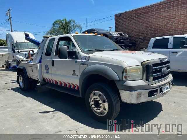 Photo 1FDXX46P65ED25618 - FORD F450 2005