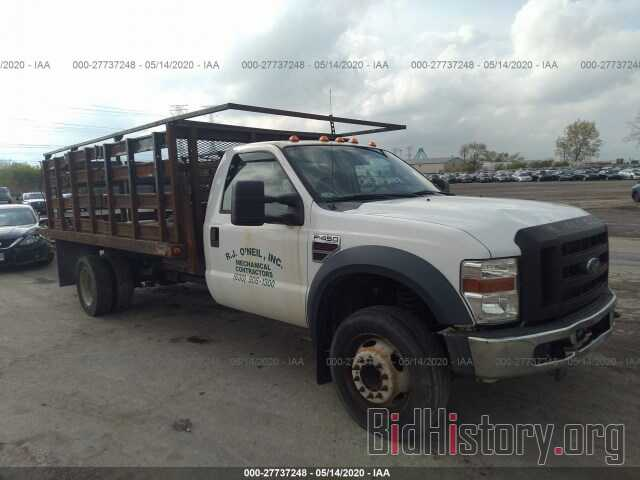 Photo 1FDXF46R78EA80255 - FORD F450 2008