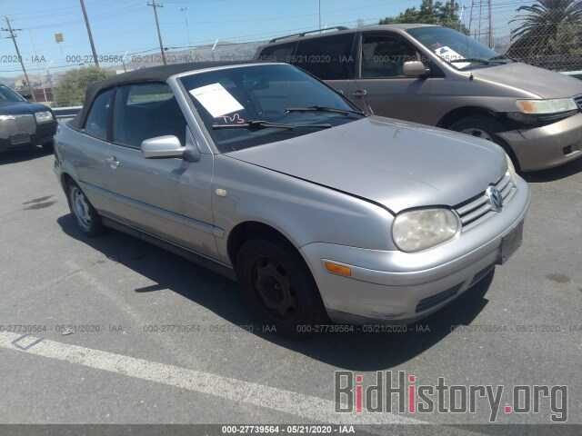 Photo 3VWDC21V0YM802939 - VOLKSWAGEN CABRIO 2000