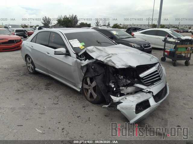 Photo WDDHF5GB2BA281078 - MERCEDES-BENZ E-CLASS 2011