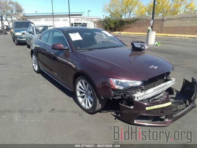 Photo WAUMFAFR8FA030178 - AUDI A5 2015