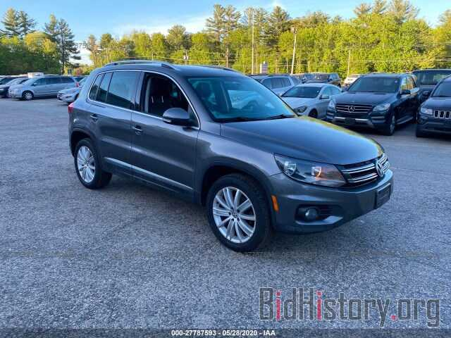 Photo WVGBV7AX9CW079535 - VOLKSWAGEN TIGUAN 2012