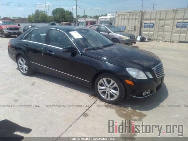 Photo WDDHF8HB7BA466775 - MERCEDES-BENZ E-CLASS 2011