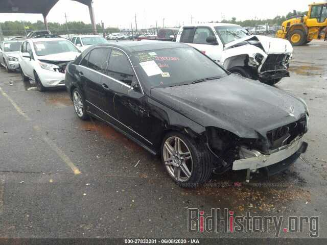 Photo WDDHF8HB9BA299013 - MERCEDES-BENZ E-CLASS 2011