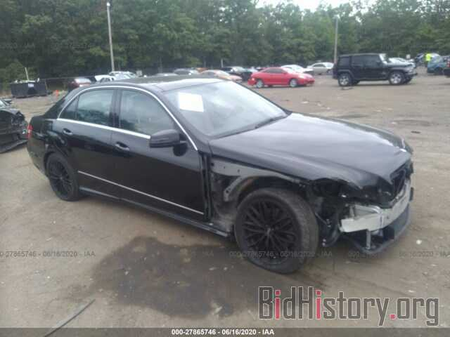 Photo WDDHF8HB7BA433033 - MERCEDES-BENZ E-CLASS 2011