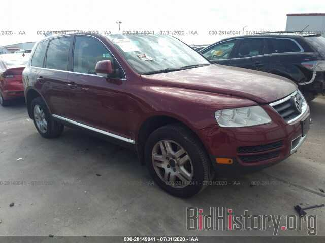 Photo WVGZM77L86D045169 - VOLKSWAGEN TOUAREG 2006