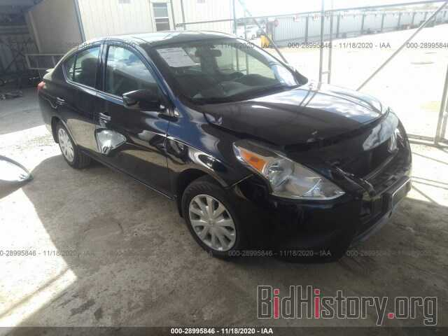 Photo 3N1CN7AP7KL821396 - NISSAN VERSA SEDAN 2019