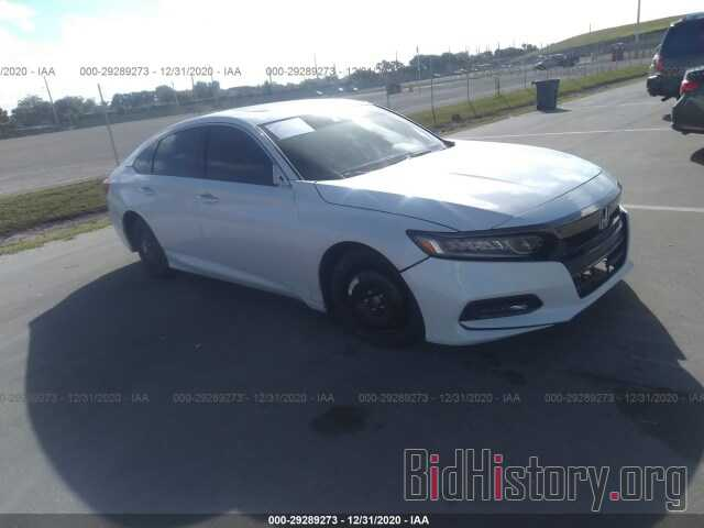 Фотография 1HGCV2F97JA024891 - HONDA ACCORD SEDAN 2018