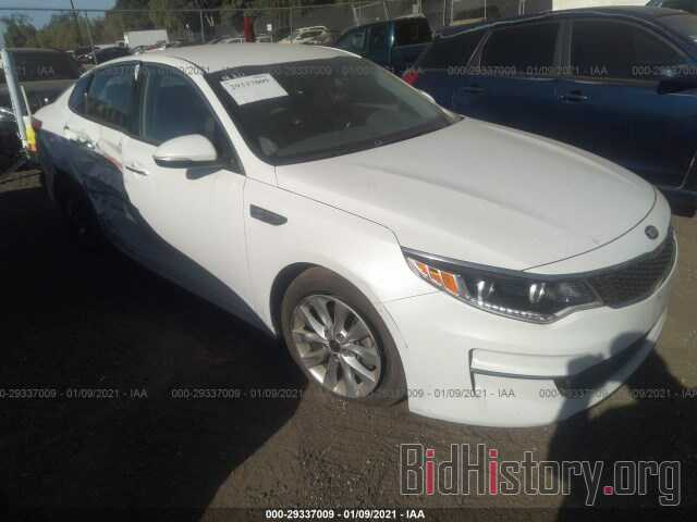 Фотография 5XXGU4L33GG053834 - KIA OPTIMA 2016