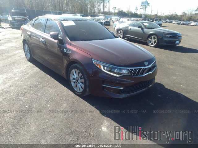 Фотография 5XXGU4L30GG085768 - KIA OPTIMA 2016