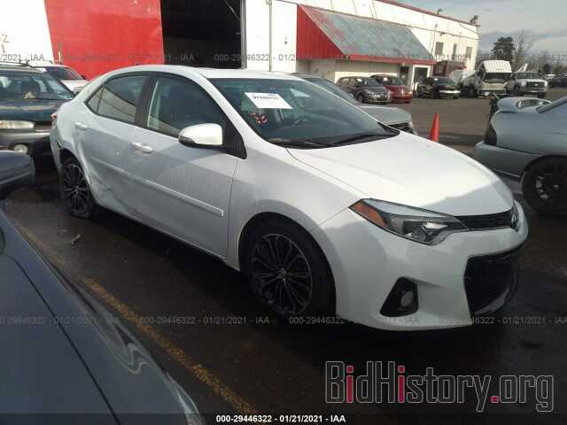 Photo 2T1BURHE6GC580999 - TOYOTA COROLLA 2016