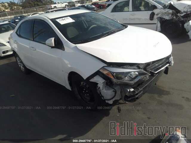 Photo 5YFBURHE8FP300059 - TOYOTA COROLLA 2015