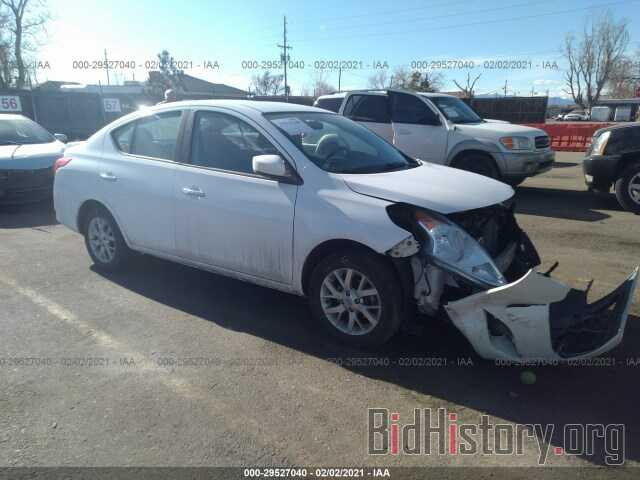 Photo 3N1CN7AP3JL870089 - NISSAN VERSA SEDAN 2018