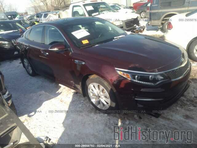 Фотография 5XXGU4L3XGG009894 - KIA OPTIMA 2016