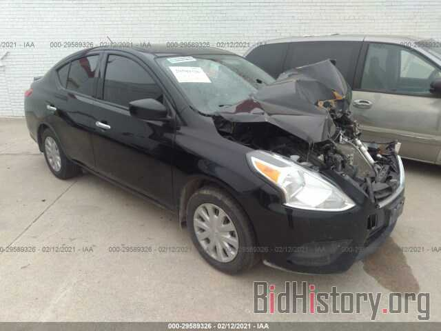 Photo 3N1CN7AP2KL817045 - NISSAN VERSA SEDAN 2019