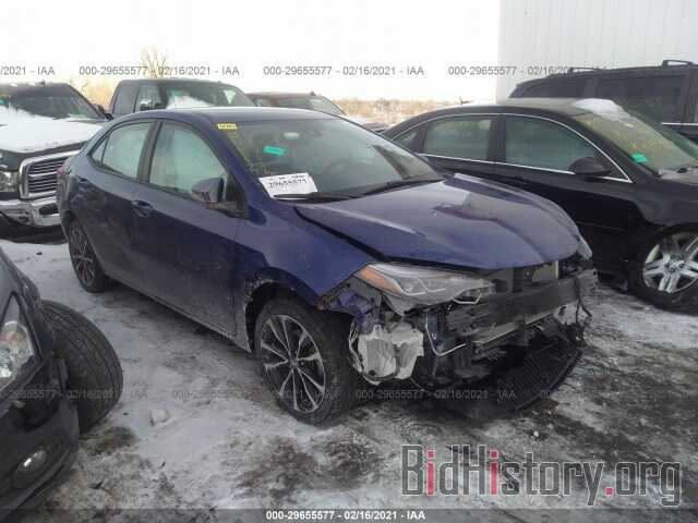 Photo 2T1BURHE4KC162644 - TOYOTA COROLLA 2019
