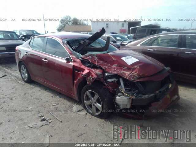 Photo 5XXGM4A7XFG483834 - KIA OPTIMA 2015