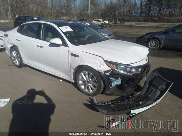 Фотография 5XXGU4L33GG009879 - KIA OPTIMA 2016