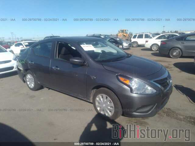 Photo 3N1CN7AP0KL863022 - NISSAN VERSA SEDAN 2019