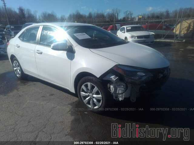 Photo 5YFBURHE7GP525333 - TOYOTA COROLLA 2016