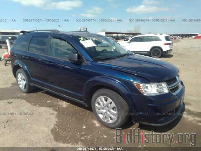Фотография 3C4PDCAB9HT581811 - DODGE JOURNEY 2017