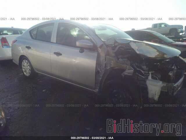 Photo 3N1CN7AP3KL829365 - NISSAN VERSA SEDAN 2019