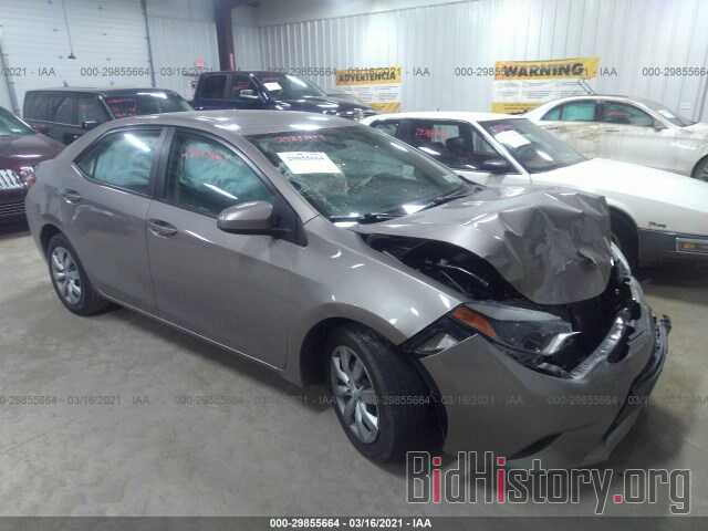 Photo 2T1BURHE9EC020696 - TOYOTA COROLLA 2014
