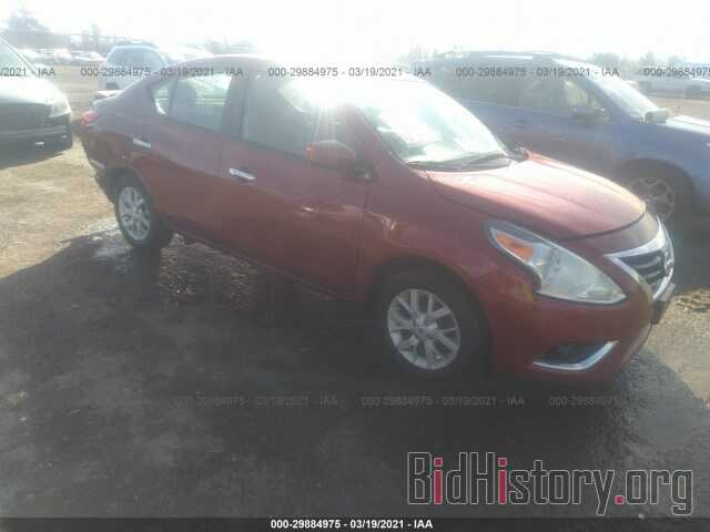 Photo 3N1CN7AP3KL823596 - NISSAN VERSA SEDAN 2019