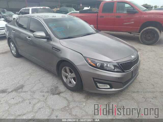 Photo 5XXGM4A77EG274548 - KIA OPTIMA 2014