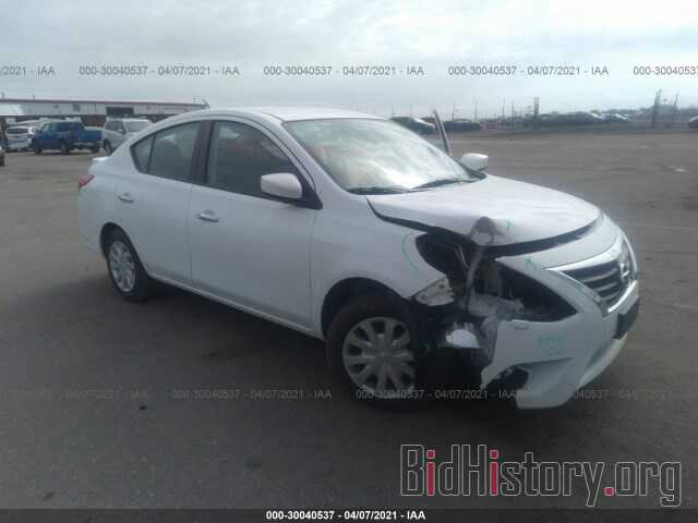 Photo 3N1CN7AP6KL881461 - NISSAN VERSA SEDAN 2019