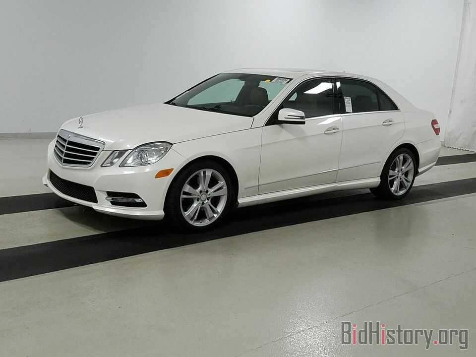 Photo WDDHF5KB8DA669720 - Mercedes-Benz E-Class 2013