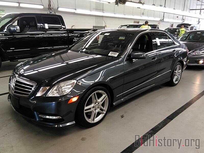 Photo WDDHF8JB2DA728523 - Mercedes-Benz E-Class 2013