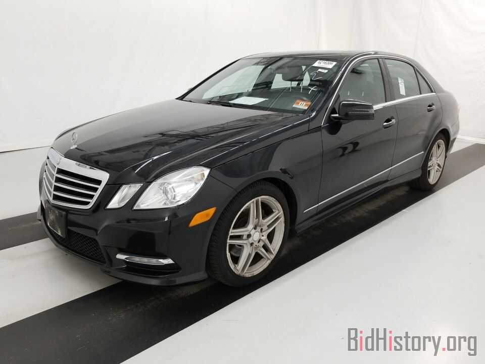 Photo WDDHF8JB4DA688249 - Mercedes-Benz E-Class 2013