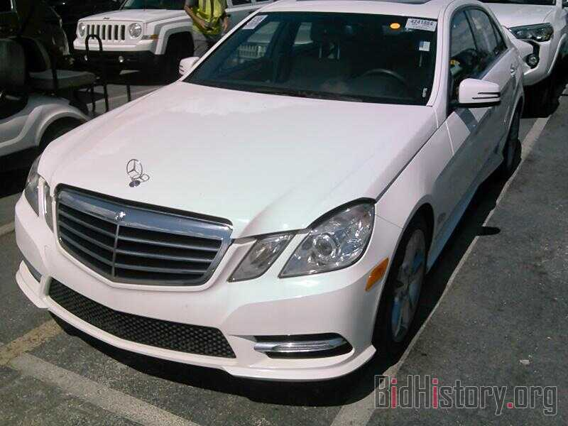Photo WDDHF5KB9DA675459 - Mercedes-Benz E-Class 2013