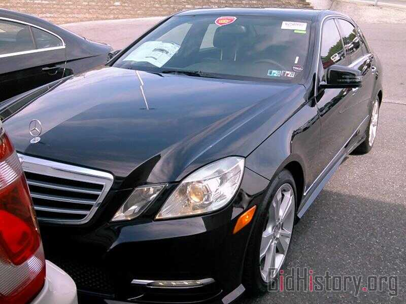 Photo WDDHF8JB5DA680631 - Mercedes-Benz E-Class 2013