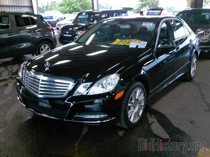 Photo WDDHF2EB0DA690555 - Mercedes-Benz E-Class 2013