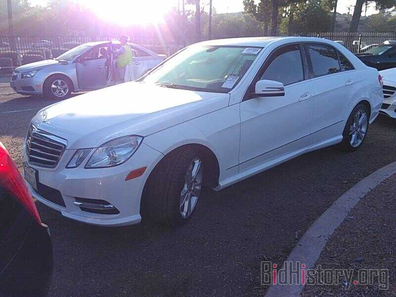 Photo WDDHF5KB9DA736017 - Mercedes-Benz E-Class 2013