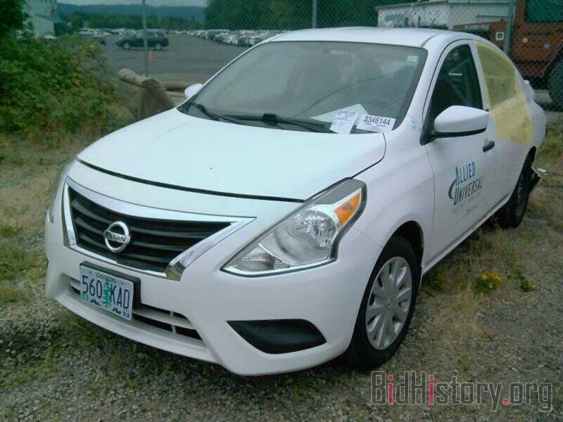 Photo 3N1CN7AP6HL820149 - Nissan Versa Sedan 2017