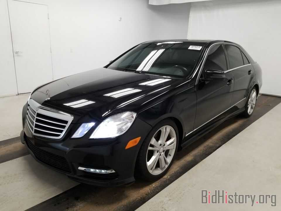 Photo WDDHF5KBXDA703916 - Mercedes-Benz E-Class 2013