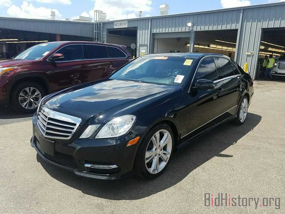 Photo WDDHF5KB9DA763671 - Mercedes-Benz E-Class 2013