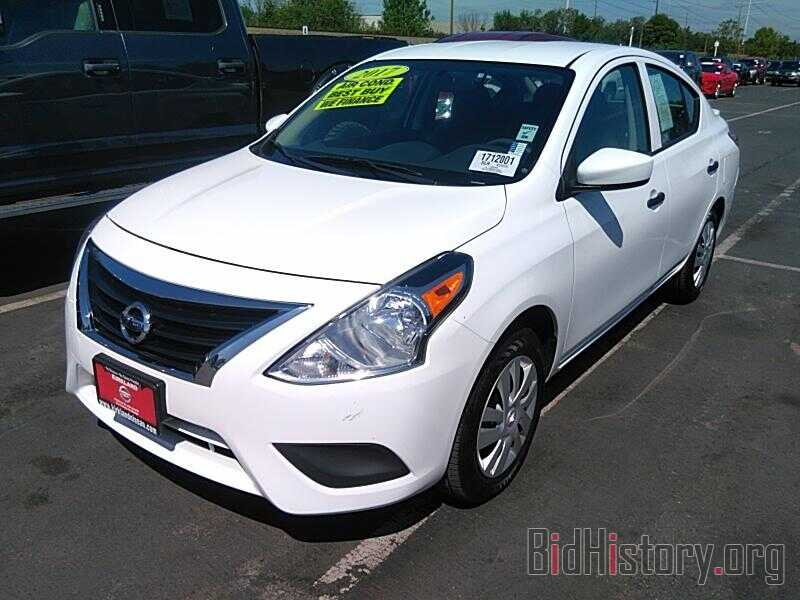 Photo 3N1CN7AP9HL886081 - Nissan Versa Sedan 2017