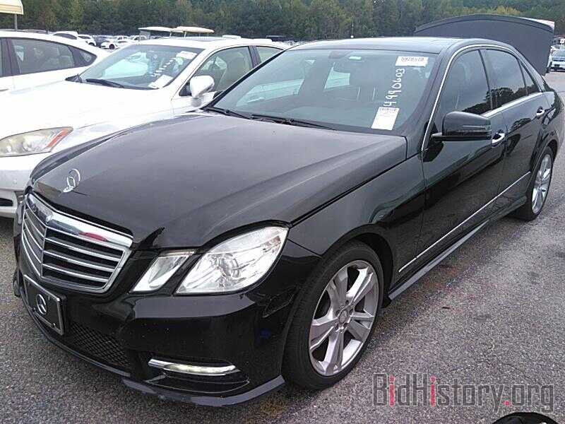 Photo WDDHF8JB6DA676412 - Mercedes-Benz E-Class 2013