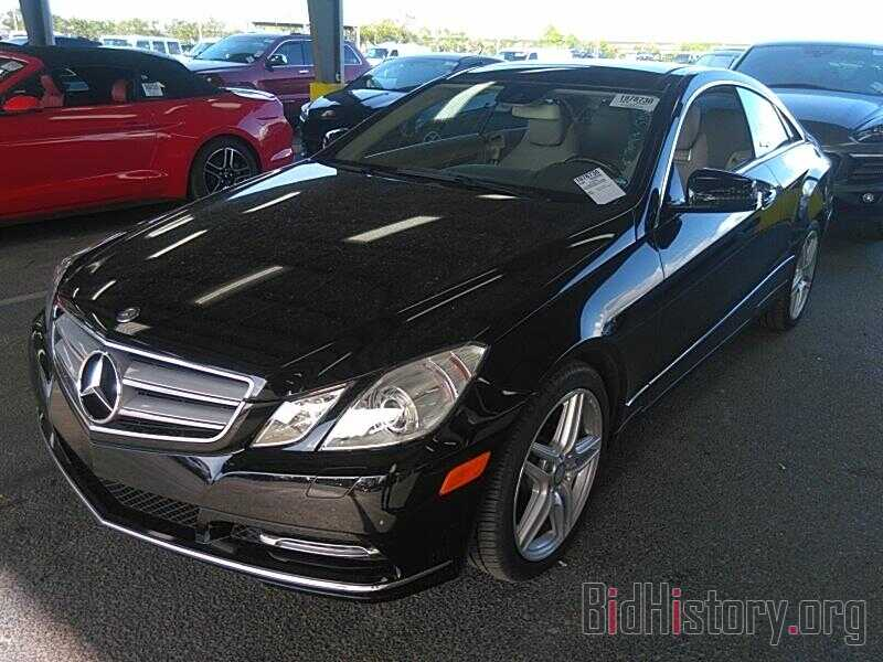 Photo WDDKJ5KB4DF221269 - Mercedes-Benz E-Class 2013