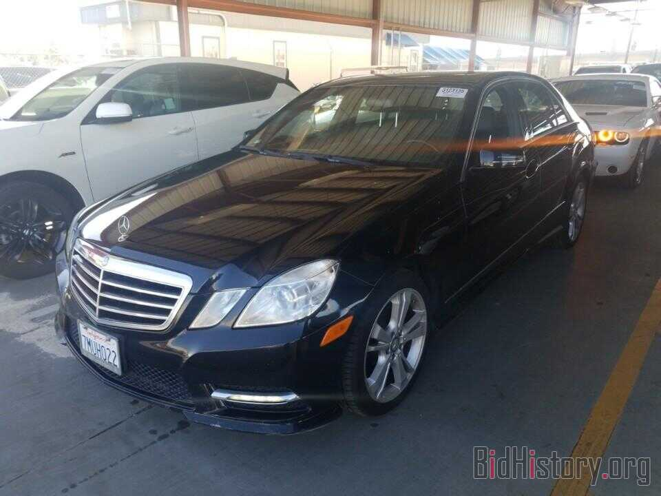 Photo WDDHF5KB4DA752769 - Mercedes-Benz E-Class 2013