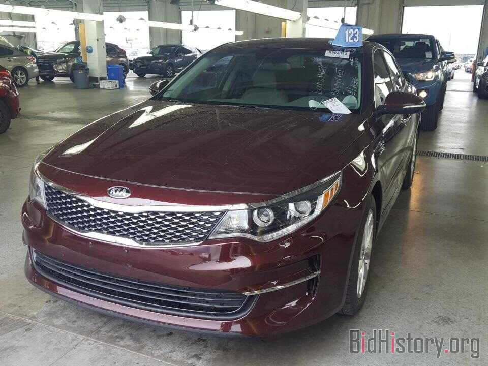 Фотография 5XXGU4L36GG084799 - Kia Optima 2016