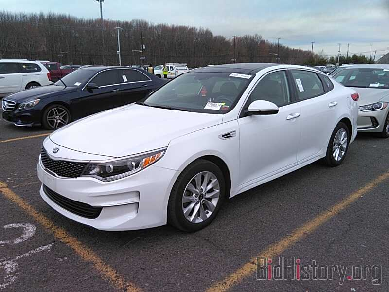 Фотография 5XXGU4L33GG074554 - Kia Optima 2016