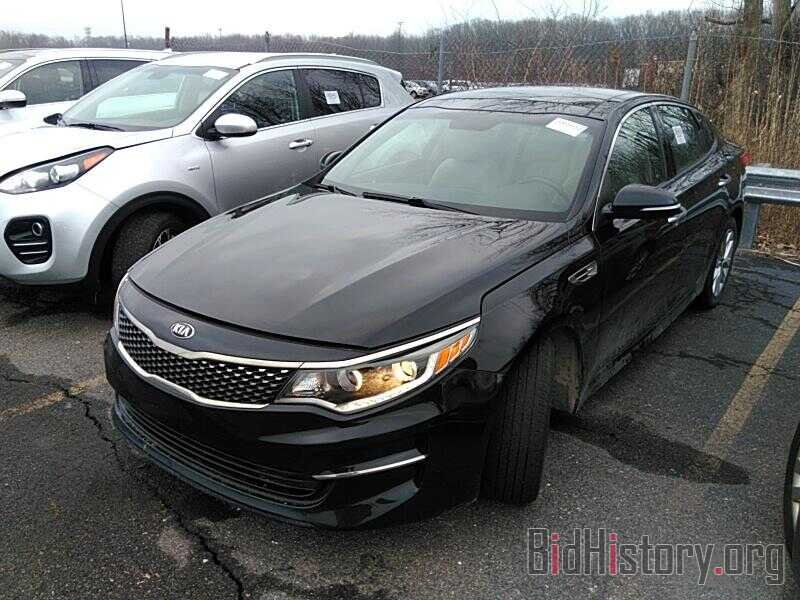 Фотография 5XXGU4L38GG121352 - Kia Optima 2016