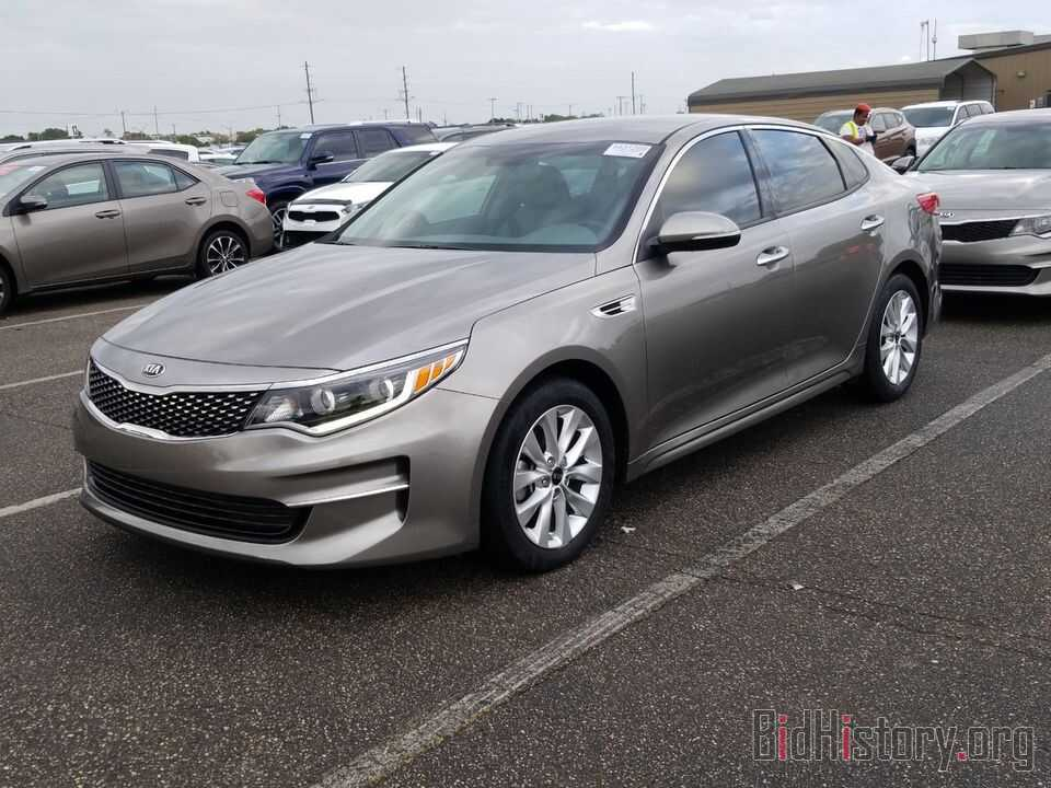 Фотография 5XXGU4L39GG077412 - Kia Optima 2016
