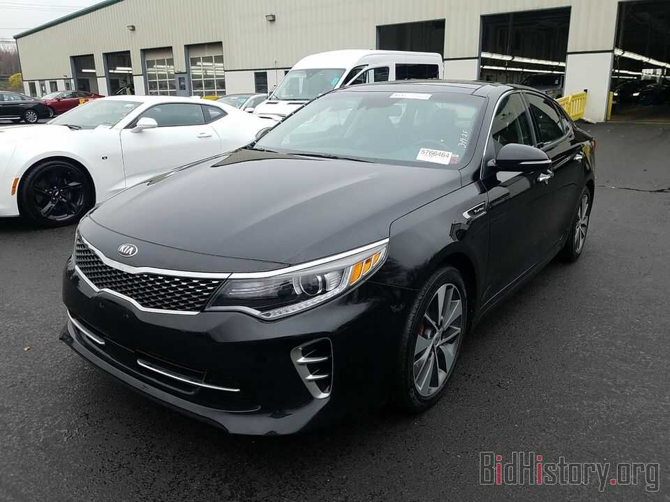 Фотография 5XXGW4L26GG098526 - Kia Optima 2016