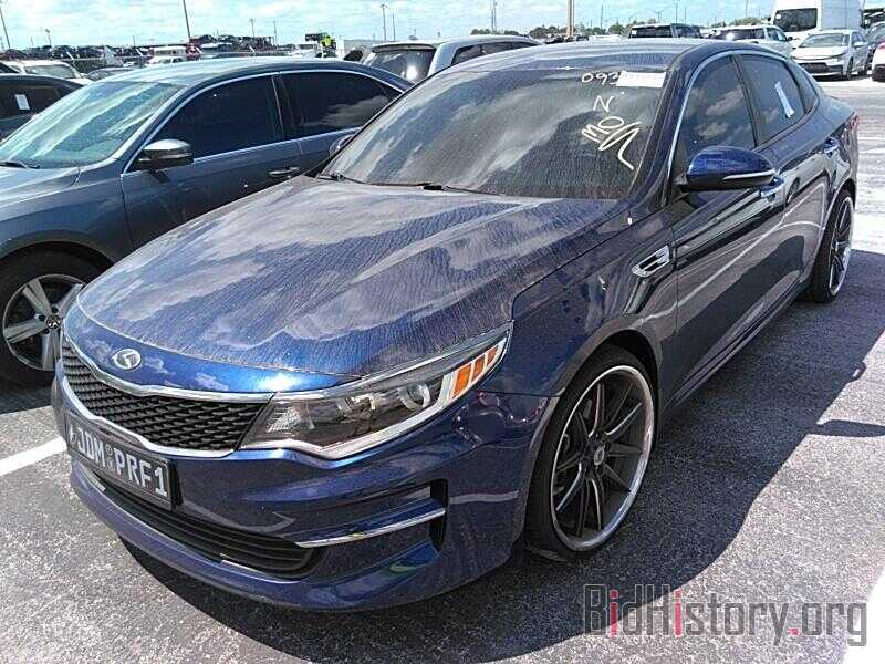 Фотография 5XXGT4L35GG093237 - Kia Optima 2016